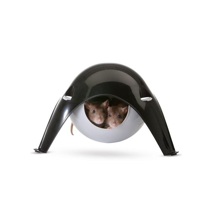Couchage et habitat rongeur - Maison Sputnik pour rongeurs