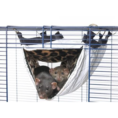 Couchage pour furet - Hamac Tube Relax pour furets