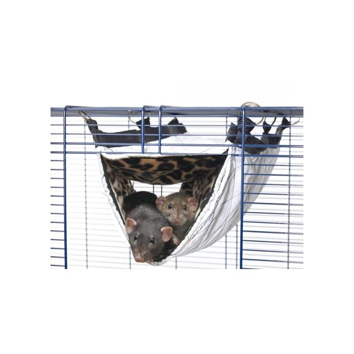 Couchage et habitat rongeur - Hamac Tube Relax pour rongeurs