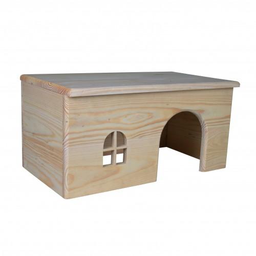 Couchage et habitat rongeur - Maisonnettes en bois  pour rongeurs