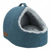 Couchage pour chat et petit chien - Abri douillet à mémoire de forme Tonio Trixie