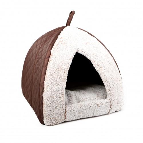 Couchage pour chat - Tipi Noisette pour chats