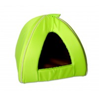 Couchage pour chat - Tipi Green