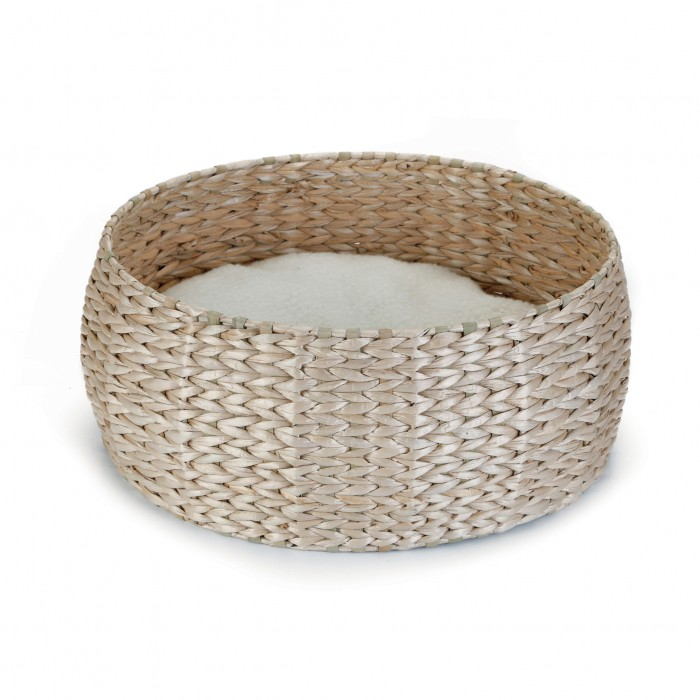 Couchage pour chat - Corbeille ronde Kubu pour chats