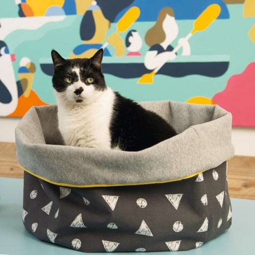Couchage pour chat - Panier Woopa pour chats