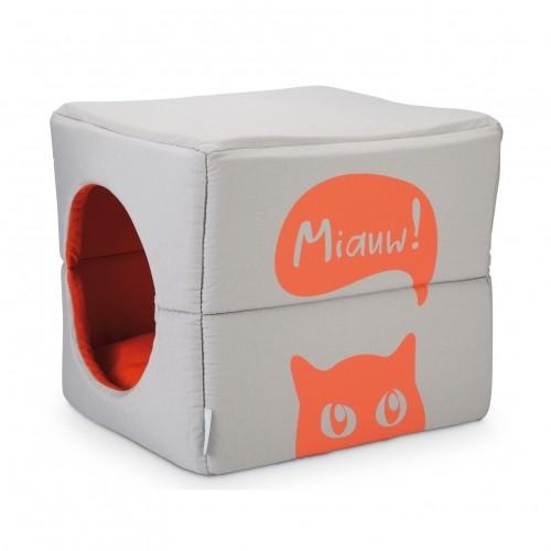 Couchage pour chat - Maison 2 en 1 Mohaki pour chats