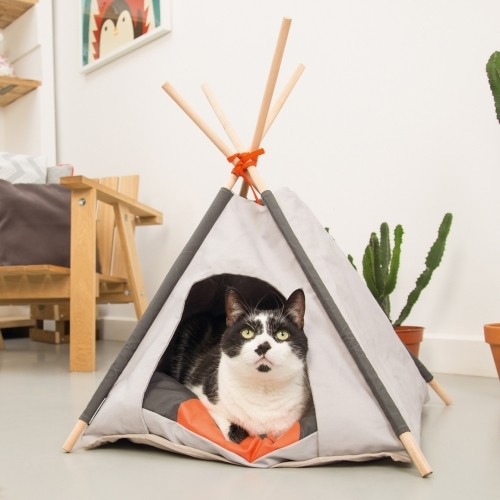 tipi mohaki maison pour chat beeztees wanimo. Black Bedroom Furniture Sets. Home Design Ideas