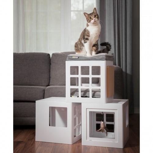 Couchage pour chat - Maison Katt3 pour chats