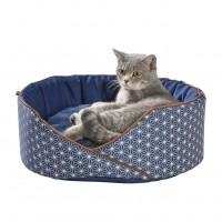 Corbeille pour chat et petit chien - Nid Asanoha Bobby