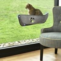 Hamac de fenêtre pour chat - Hamac ventouse Balkan Bobby