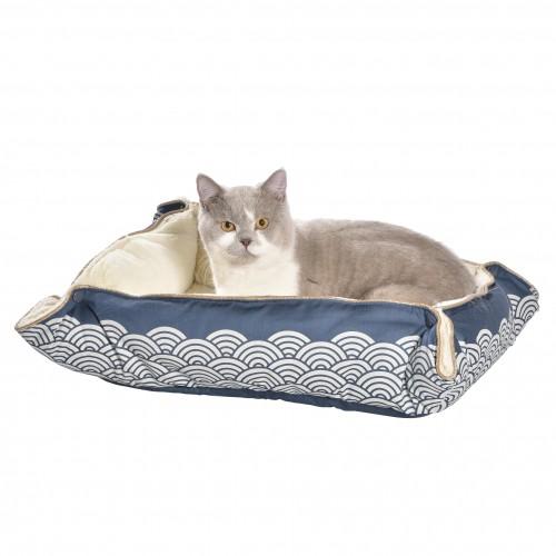 Corbeille et panier pour chat - Multirelax Seigaiha Bobby