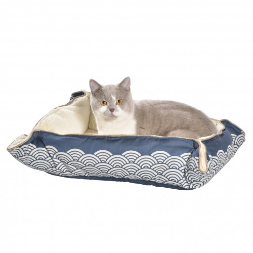 Couchage pour chat - Multirelax Seigaiha pour chats