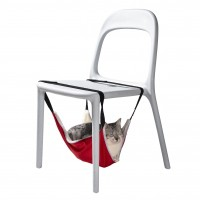 Couchage pour chat - Hamac Origami