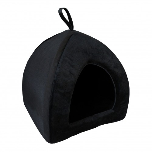 Couchage pour chat - Tipi All Black pour chats