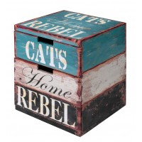Couchage pour chat - Maison Box Rebel