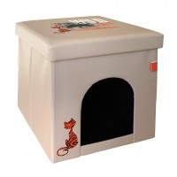 Couchage pour chat - Cube Wild Cat