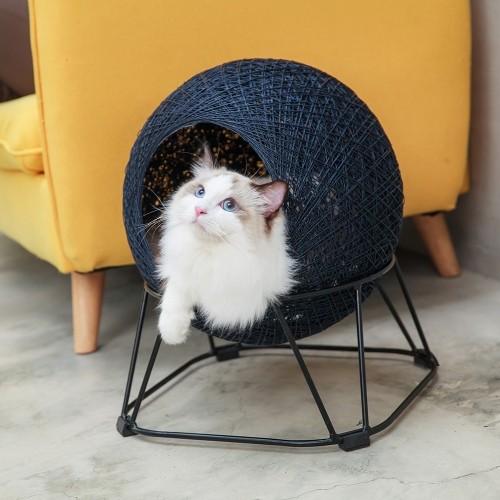 Couchage pour chat - Couchage Boule pour chats