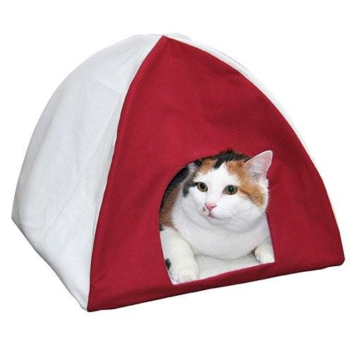 tente d 39 int rieur d me et maison pour chat kerbl wanimo. Black Bedroom Furniture Sets. Home Design Ideas