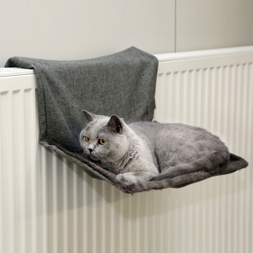 hamac paradies hamac lit de radiateur pour chat kerbl. Black Bedroom Furniture Sets. Home Design Ideas