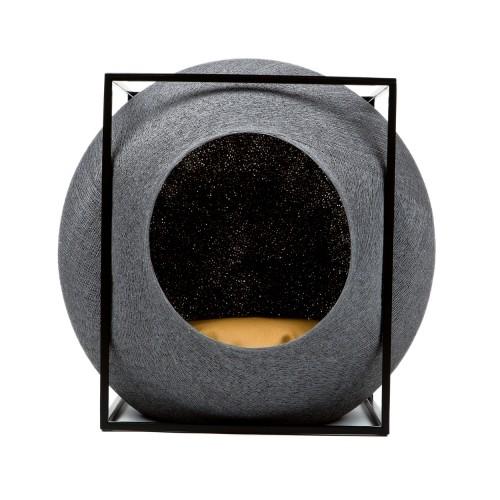 Couchage pour chat - Cube Cocon - Edition métal pour chats