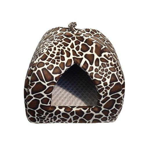 Couchage pour chat - Tipi Girafe pour chats