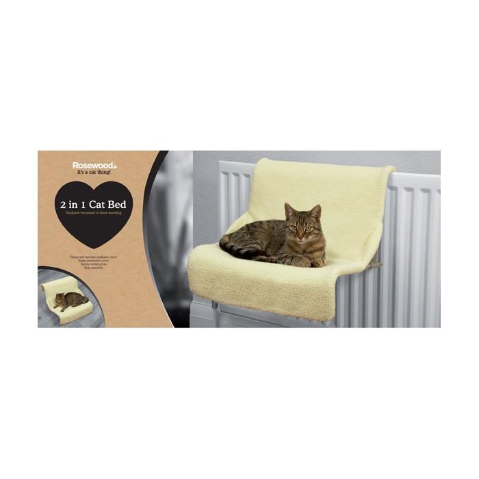 Couchage pour chat - Hamac 2 en 1  pour chats