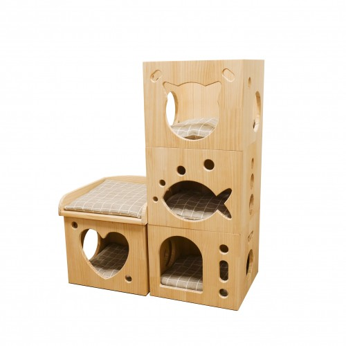 Couchage pour chat - Maison Sleeper Caves pour chats