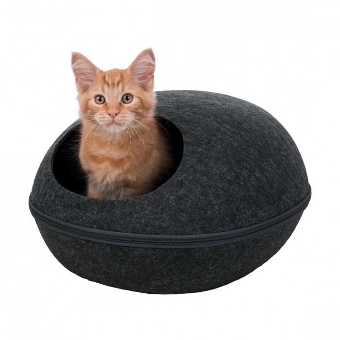 Couchage pour chat - Abri douillet Liva pour chats