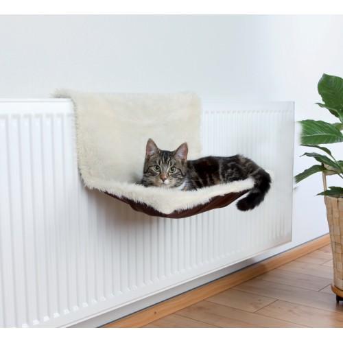 hamac bicolore hamac lit de radiateur pour chat. Black Bedroom Furniture Sets. Home Design Ideas
