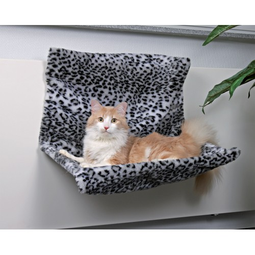 hamac panth re grande taille hamac lit de radiateur pour chat trixie wanimo. Black Bedroom Furniture Sets. Home Design Ideas
