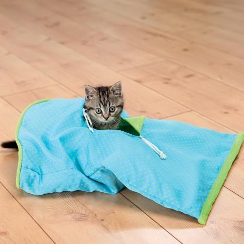 Couchage pour chat - Sac Moustache pour chats