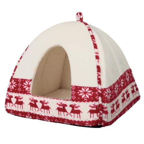 Couchage pour chat - Tipi Santa pour chats