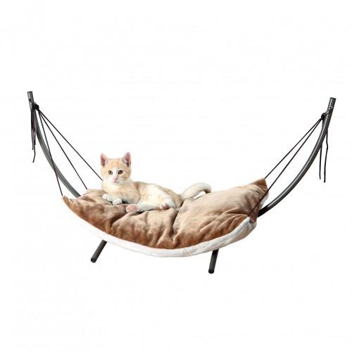 Couchage pour chat - Hamac sur pied pour chats