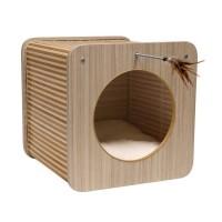Maison pour chat - Cube Zen