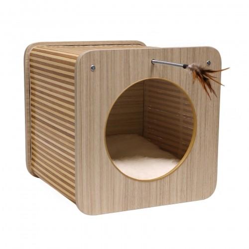 Couchage pour chat - Cube Zen pour chats