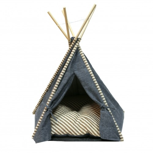 Couchage pour chat - Tipi Jeans pour chats