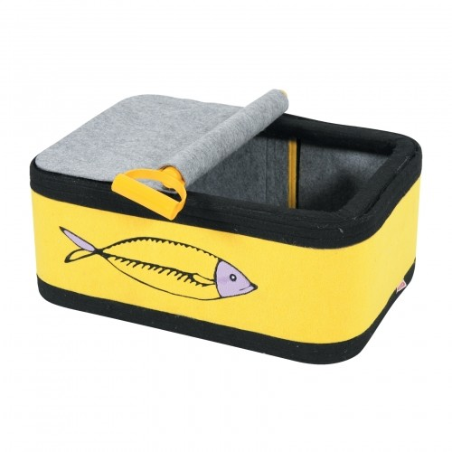 panier chat boite sardine