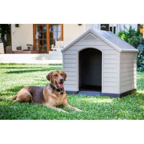Couchage pour chien - Niche en plastique pour chiens