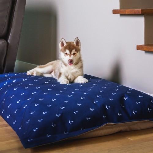 Couchage pour chien - Coussin Cloud Navy pour chiens