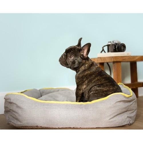 Couchage pour chien - Sofa Cozy Gray Denim pour chiens