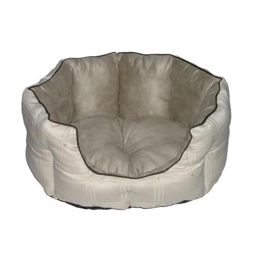 Couchage pour chien - Corbeille Suédine pour chiens