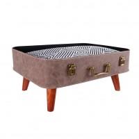 Fauteuil et canapé pour chien et chat - Lit Retro Suitcase Ibiyaya