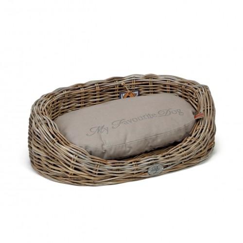 Couchage pour chien - Corbeille en osier Windsor pour chiens