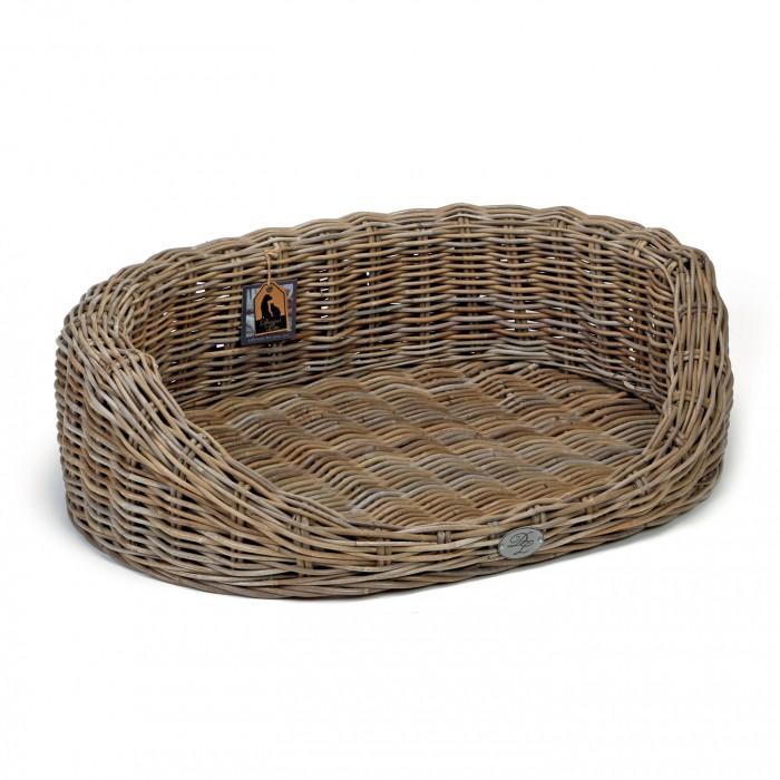 Panier Osier Grand Chien : Corbeille en osier windsor panier et lit pour chien