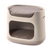 Panier et lit pour chien et chat - Couchage 3en1 Bunkbed Curver