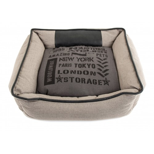 Couchage pour chien - Corbeille Domino Industriel pour chiens