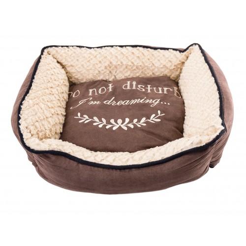 Couchage pour chien - Corbeille Domino Cosy pour chiens
