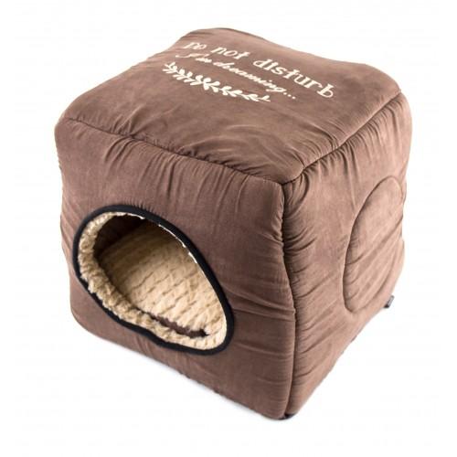 Couchage pour chien - Maison 2 en 1 Cosy pour chiens