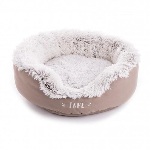 Couchage pour chien - Corbeille Igloo Fourrure pour chiens