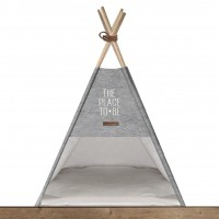 Couchage pour chien - Tipi Cosy Coffee